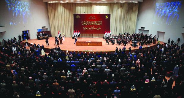 البرلمان العراقي يعقد جلسته الأولى .. وتحالفان رئيسيان يطالبان بتشكيل الحكومة
