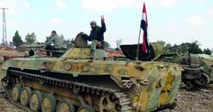 الجيش السوري يقصف مواقع الارهابيين في إدلب وحماة