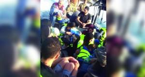 البحرية اللبنانية تنقذ 40 لاجئا قبالة سواحلها.. غالبيتهم سوريون