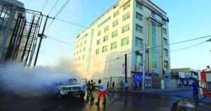 الصومال: مقتل شخص في انفجار سيارتين ملغومتين