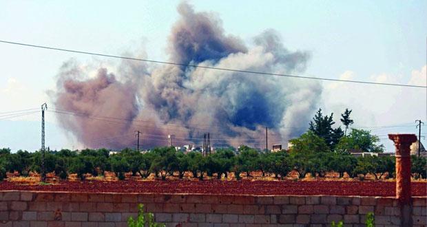 الجيش السوري يواصل تقدمه في عمق تلول الصفا ..ويدمر عتادا للإرهابيين بريف حماة