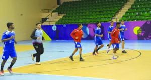 منتخبنا لناشئي اليد يخوض ثلاث مباريات ودية أمام المنتخب العراقي