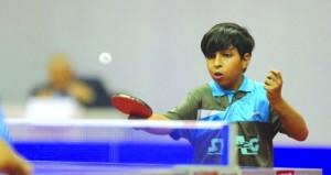 ختام منافسات بطولة فردي السلطنة للبراعم والأشبال والناشئين لكرة الطاولة