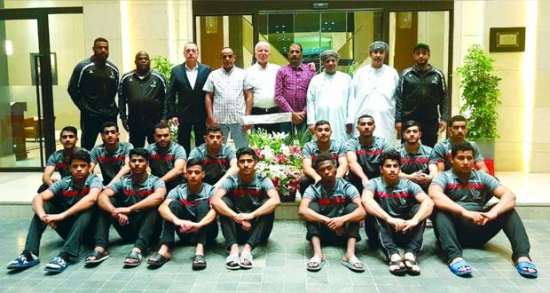 منتخبنا الوطني لناشئي اليد يواجه المنتخب الإماراتي وعينه على الفوز