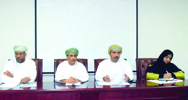 اجتماع تحضيري للشؤون الرياضية بمحافظة ظفار حول مسابقة الأندية للإبداع الشبابي