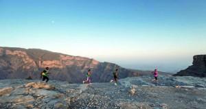 اقتراب انتهاء فترة التسجيل في تحدي الجري الجبلي ألترا تريل مون بلانك بالسلطنة