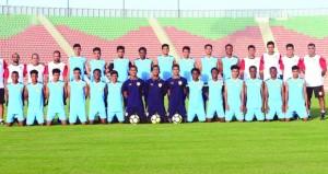 منتخبنا الوطني لناشئي القدم يواجه اليوم إيران وديا