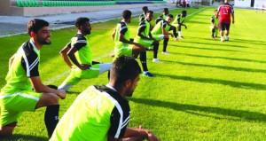 منتخبنا الوطني الأول يواصل تدريباته لملاقاة لبنان والأردن وديا