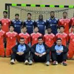 منتخبنا الوطني لناشئي اليد يواجه المنتخب السوري في مباراة تحديد المراكز