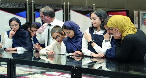 """المعرض الوثائقي يبرز """"علاقة عمان مع بريطانيا"""" ويقدم ملمحا تاريخيا لمسارها"""