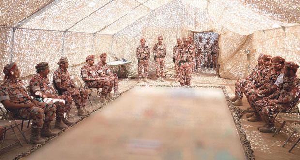 وقوف على الخطط العسكرية والإجراءات الميدانية بــ(الشموخ 2) و(السيف السريع3)