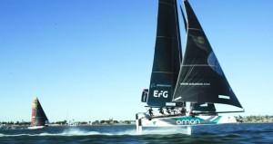 """فريق """"الطيران العُماني"""" يتأهب لخوض منافسات الجولة قبل الأخيرة في سان دييجو"""