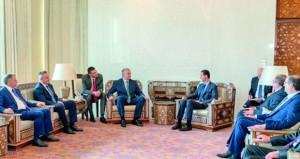 سوريا: الأسد يستقبل رئيس القرم ومهلة إضافية لتطبيق (العازلة) في إدلب