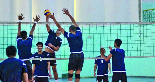 منتخب الطائرة يبدأ أولى حصصه التدريبية بمعسكر تونس