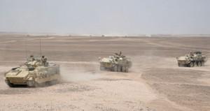 السيف السريع 3: القوات تحاكي مراحل الحرب المختلفة