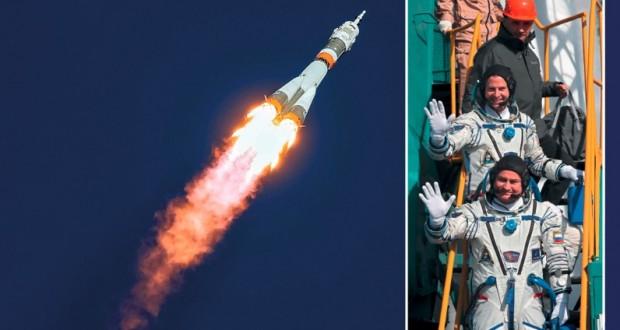 هبوط اضطراري لمركبة الفضاء الروسية سويوز بسبب خلل أثناء إطلاقها