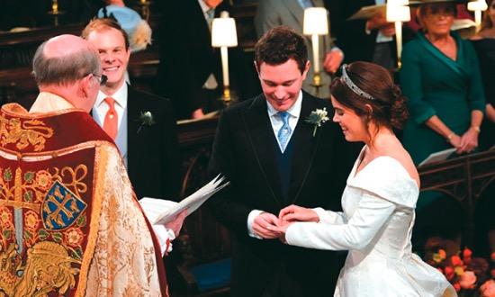 (يوجيني) حفيدة ملكة بريطانيا تدخل القفص الذهبي
