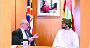 وزير الدولة بالخارجية البريطانية يؤكد تقدير بلاده لجهود السلطنة بقيادة جلالته لإيجاد الحلول والمخارج لأزمات المنطقة