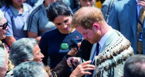 هاري وزوجته ميجان يواصلان جولتهما في نيوزيلندا