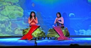 تواصل العروض الفنية المسرحية لمهرجان الدن العربي بكلية الخليج