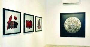 لوحات التشكيلي حمزة بونوة تحتفي بالحروفية