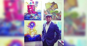 """التشكيلي سلمان الحجري يشارك في المعرض العالمي """"آرت شوبين"""" في دورته الـ ٢٣"""