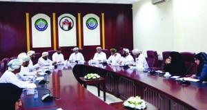"""""""الأمن الغذائي"""" بغرفة شمال الشرقية تناقش تطوير مجالات العمل الزراعي"""