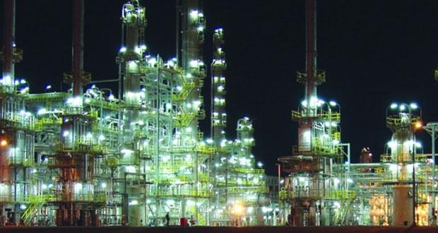 22% ارتفاعا بإنتاج المصافي والصناعات البترولية بالسلطنة بنهاية الربع الثالث