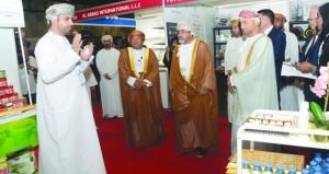 """افتتاح معرض """"عمان للغذاء والضيافة 2018″"""