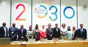 """""""أسياد"""" تنظم جلسة عمل ضمن فعاليات منتدى منظمة التجارة العالمية 2018 في جنيف"""