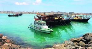 أكثر من 15 ألف سائح زاروا جزيرة مصيرة في 2017