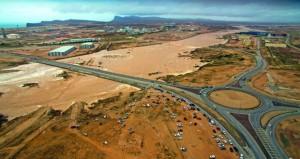 أمطار متفاوتة الغزارة على عدد من ولايات محافظة ظفار