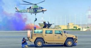 شرطة عمان السلطانية تنفذ بياناً عمليا ضمن مجريات التمرين الوطني الشموخ2