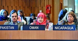 السلطنة تؤكد أهمية تعزيز الأخلاقيات العالمية واحترام حقوق الإنسان وحل النزاعات بالوسائل السلمية