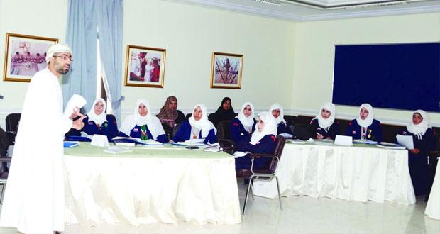 مرشدات السلطنة تشارك في برنامج التدريب على أهداف التنمية المستدامة بالأردن