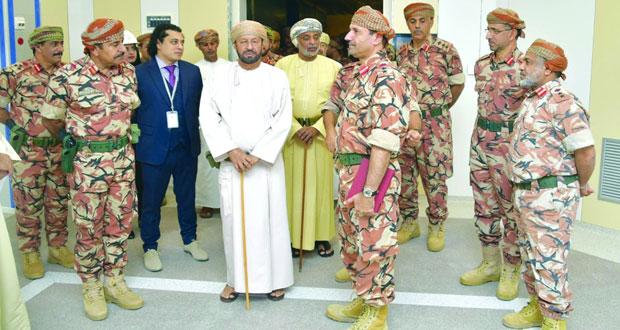الوزير المسؤول عن شؤون الدفاع يتابع مراحل تنفيذ مشروع التوسعة الجديدة لمستشفى القوات المسلحة بالخوض