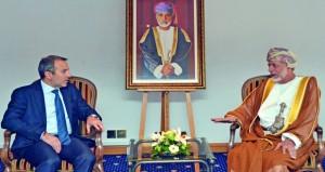 ابن علوي يستقبل وزير الخارجية والمغتربين اللبناني