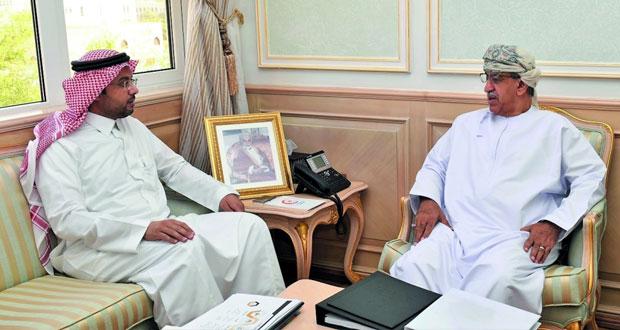 وزير الصحة يبحث مع مدير عام صحة التعاون الإجراءات الصحية المشتركة