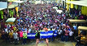 جواتيمالا تعيد 2000 مهاجر إلى هندوراس