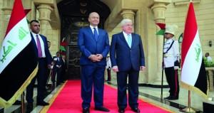 برهم صالح رئيساً للعراق وعادل عبد المهدي رئيس وزراء مكلّفاً