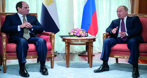 مباحثات روسية مصرية بشأن القضايا الإقليمية والطيران المباشر