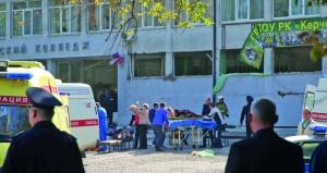 عشرات القتلى والجرحى في تفجير بشبه جزيرة القرم