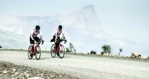 منتخب الدراجات الهوائية لفئة الزوجي يشارك في سباق بايكن مان بتايوان الصينية