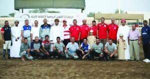 منتخبنا الوطني لالتقاط الأوتاد يواصل استعداداته والمنتخب اليمني يلتحق بالمعسكر المشترك