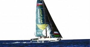 قارب الطيران العماني يحقق المركز الثاني في جولة الاكستريم بسان دييجو