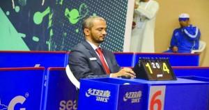 الحكم الدولي محمد العلوي يشارك في إدارة منافسات بطولة مصر الدولية لكرة الطاولة