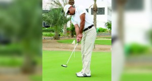 أحمد الفارسي يشارك في دورة المدربين للجولف بالبحرين