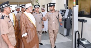 افتتاح مركز شرطة الكامل والوافي