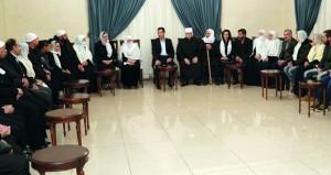 الرئيس السوري : قضية المخطوفين والمفقودين في مقدمة أولوياتنا