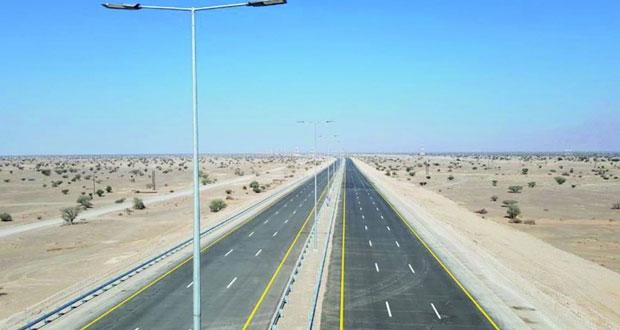 افتتاح 28 كيلو من طريق الشرقية السريع أمام الحركة المرورية